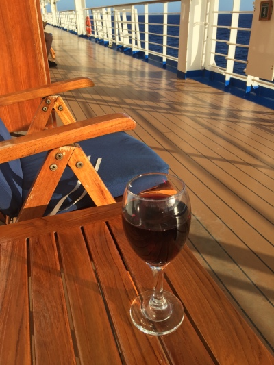 Wine is better on a Cruise