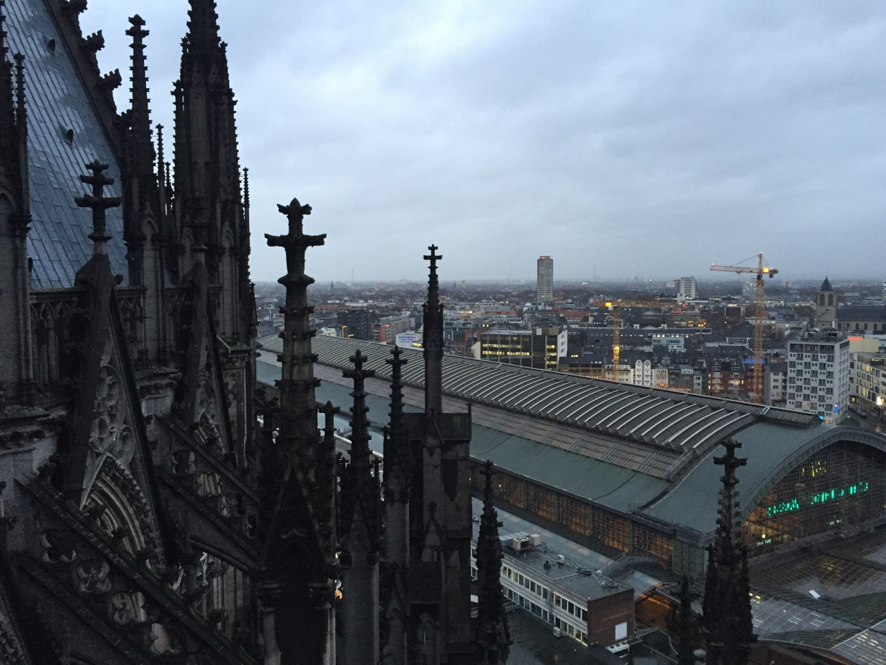 View from Cologne Cathdral